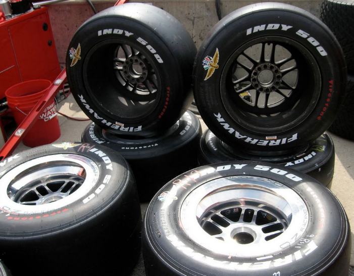 Winning the Indy 500 and your Financial Freedom–The ... Race Tire Stack